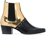 Balmain contrast upper Chelsea boots
