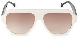 Colors In Optics Bossy 61MM Square Sunglasses