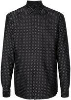 Haider Ackermann polka dot shirt