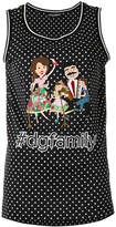 Dolce & Gabbana tdgfamily patch tank top
