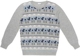 Il Gufo Intarsia wool sweater