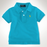 Short-Sleeved Mesh Polo