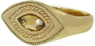 Yellow Sapphire Baby Brutus Ring