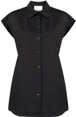 Erika Cavallini Oversized Sleeveless Shirt