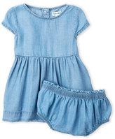 Splendid Newborn/Infant Girls) Two-Piece Chambray Dress & Bloomers Set