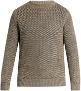 Ermenegildo Zegna Loose-knit linen and cotton-blend sweater