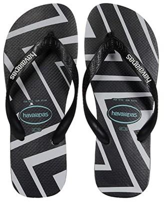 Havaianas Top Zigzag Sandal (Black) Men's Shoes