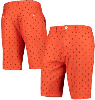 Men's Orange San Francisco Giants Repeat Logo Walking Shorts
