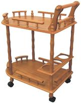 Home Decorators Collection Oak Wine Cart