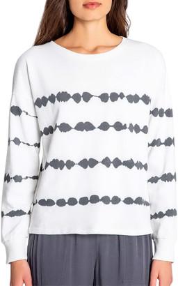 PJ Salvage Minimalist Long-Sleeve French-Terry Sweatshirt
