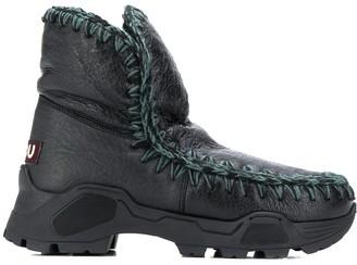 Mou stitched Eskimo boots