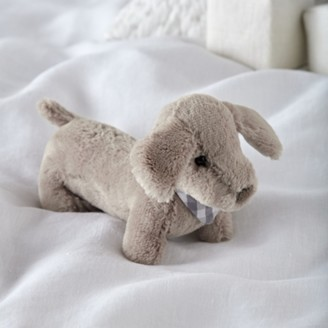 The White Company Mini Roland Sausage Dog Toy, Brown, One Size