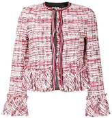 Karl Lagerfeld cropped boucle jacket