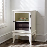 Pier 1 Imports Toscana Low Snow White Cabinet