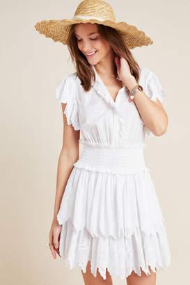 Rebecca Taylor La Vie By Michelle Eyelet Mini Dress