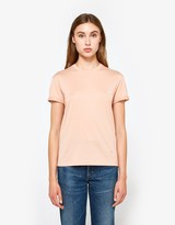 Alexander Wang S/S Crewneck Tee in Rose