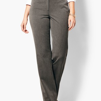 Talbots Refined Bi-Stretch Barely Boot Pants - Curvy Fit