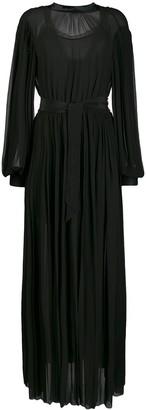 Karl Lagerfeld Paris Pleated Shirt Dress