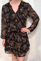Veronica M Floral Elastic Waist Drop Dress