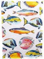 George Home Fish Print Tea Towel