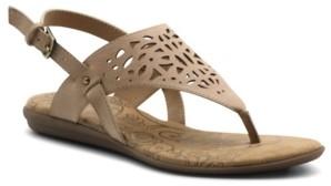 Mootsies Tootsies Women's Cinda Laser Cut Out Thong Sandal Women's Shoes