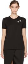 Dolce & Gabbana Black Angel Patch T-Shirt