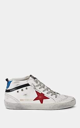 Golden Goose Women's Mid Star Suede Sneakers - White