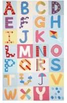 nuLoom Kinderloom Alphabet Boxes Print Area Rug