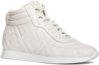 Fendi FF Feather High Top Sneaker