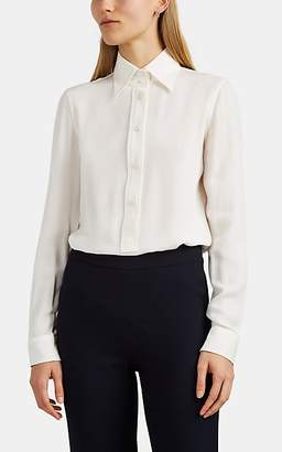 Giorgio Armani Women's Silk Crepe Blouse - Cream