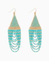 Charming charlie Seedbead Swag Earrings