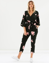 One Teaspoon Quartermaster Wrap Jumpsuit