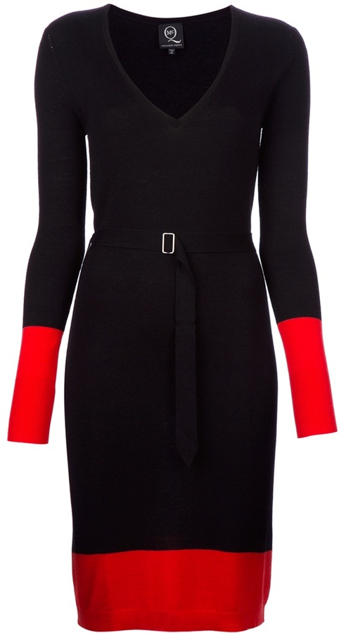 McQ belted dress
