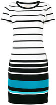 MICHAEL Michael Kors striped T-shirt dress - women - Polyester/Spandex/Elastane/Viscose - S