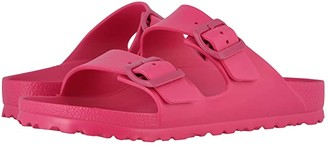 Birkenstock Arizona Essentials (Beetroot Purple EVA) Women's Shoes