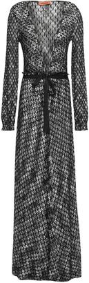 Missoni Ruffle-trimmed Crochet-knit Cardigan