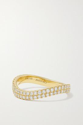 Anita Ko 18-karat Gold Diamond Ring - 6