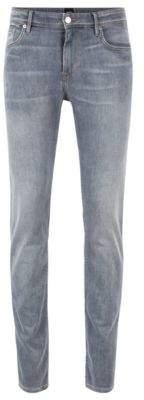 BOSS Extra-slim-fit jeans in lightweight Italian stretch denim