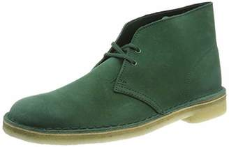 Clarks Men's Ankle Boots Green Size: