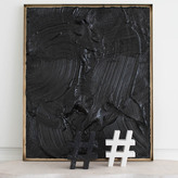 Kelly Wearstler Hashtag - Negro