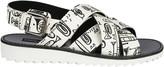 Dolce & Gabbana Musical Print Sandals