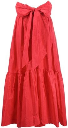P.A.R.O.S.H. High-Waisted Tiered Skirt