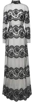 Dolce & Gabbana Silk-blend Point D'esprit And Lace Gown