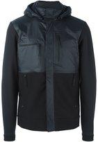 The North Face zip pocket rain jacket