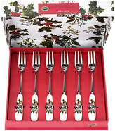 Portmeirion The Holly and The Ivy Pastry Forks, Set of 6