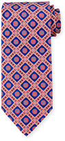 Stefano Ricci Medallion-Print Silk Tie