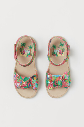 H&M Patterned sandals