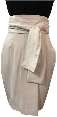 Givenchy White Leather Skirt for Women