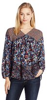 Plenty by Tracy Reese Women's Romantic Printed Blouse