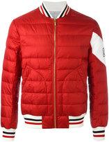 Moncler Gamme Bleu padded jacket - men - Polyamide/Cupro/Goose Down - 1